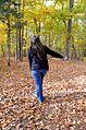 Fall leaves fun Staunton River State Park Nov 8 2014 (15650625887).jpg