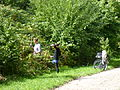 Fallowfield Loop blackberry pickers (9884390936).jpg