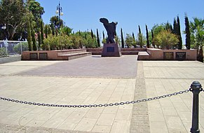 Famous Armenian Genocide monument in Larnaca Republic of Cyprus.jpg