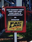 Fast Lane wait time sign for GateKeeper.jpg