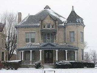 Ferguson House (Logansport, Indiana) United States historic place