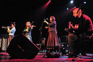 Fernhill (band) - Fernhill playing Welsh folk music in concert in Lommel, Belgium, 2009