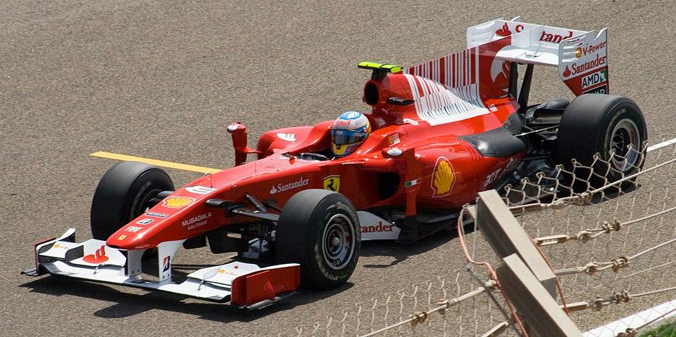 Ferrari Bahrain 2010