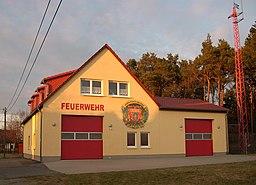 Feuerwehrstraße in Hoyerswerda