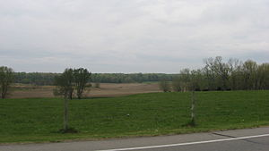 Fort Ouiatenon - Fields at the site