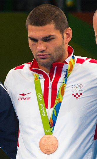 Filip Hrgović - Hrgović at the 2016 Summer Olympics