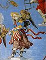 Filippino lippi, cappella carafa, assunzione, angelo.jpg