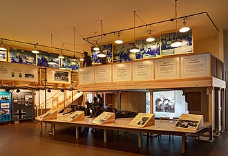 Bentley Priory - A Battle of Britain museum display at Bentley Priory