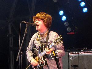 Fionn Regan - Regan at Summer Sundae in 2010.