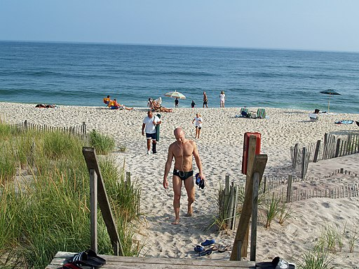 Fire Island Pines Beach in New York