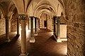 Firenze, santa trinita, cripta a trifoglio del 1150-1200 ca. 11.jpg