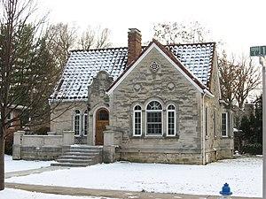 Vinegar Hill Historic District - Image: First Street 1002, Mazzullo House, Vinegar Hill HD