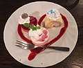 First season sweets plate of Yui, Natsuki and Moka.jpg
