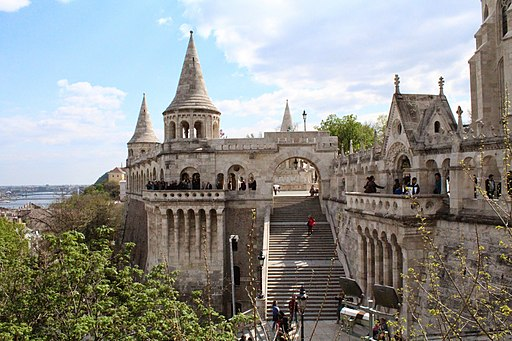 Fisherman's Bastion, Budapest, Hungría - panoramio (47)