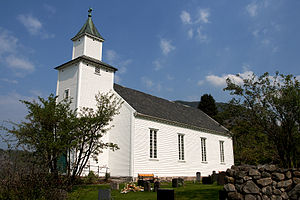 Fister - View of the village church