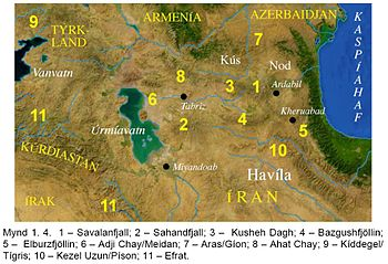 Fl%C3%BCsse in und um Irak