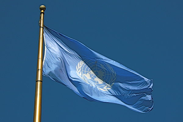 United Nations flag. Photo: Wikimedia