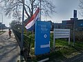 Flag halfway for the death of Mayor Pieter Smit, Winschoten (11 April 2018) 03.jpg