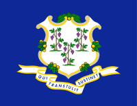 Connecticuteko bandera