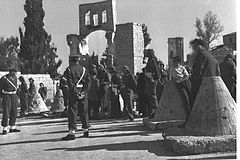 Flickr - Government Press Office (GPO) - THE MANDELBAUM GATE BORDER POST IN JERUSALEM, BEFORE THE CROSSING OF CHRISTIAN PILGRIMS.jpg