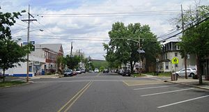 Florence Township, New Jersey - Business district of Florence Township