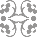 Flowers4 Ornament Gray.png