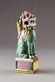 Fohund med rökelsehållare, från Kina 1800-tal - Hallwylska museet - 95452.tif