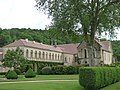 Fontenay Abbey - The Lodgings of the Commendatory Abbots, The Seguin Gallery and The Jail House (35833779385).jpg