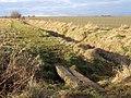 Footbridge and path to Boyton Hall farm - geograph.org.uk - 1161982.jpg