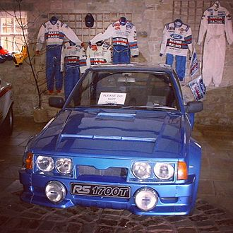 Ford World Rally Team - Ford Escort RS1700T at M-Sport, 2001.