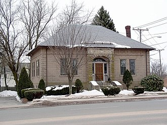 South Windsor, Connecticut - Former Memorial Library