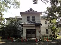 Former the main building of Aichi University Juniour College 100822
