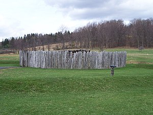 Wharton Township, Fayette County, Pennsylvania - Reconstruction of Fort Necessity