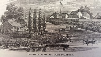 John Kinzie - Kinzie Mansion and Fort Dearborn