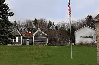 Fort Winnebago - Fort Winnebago Surgeons Quarters and Garrison School