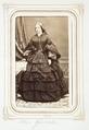 Fotografiporträtt på Fru Henriette Giesecke - Hallwylska museet - 107832.tif