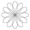 Four 3 Petal roses.png