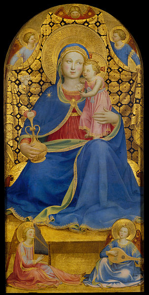 File:Fra Angelico - Virgin of Humility - Google Art Project.jpg