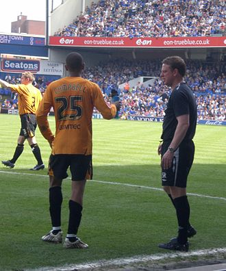 Fraizer Campbell - Campbell (left) playing for Hull City in 2008