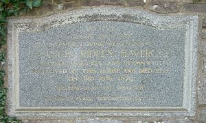 Frances Ridley Havergal - Memorial plaque situated near Caswell Bay