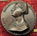 Francesco da sangallo, medaglia con autoritratto e moglie elena marsuppini, 1551.JPG