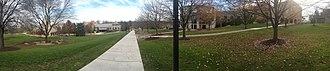 Franciscan University of Steubenville - Image: Franciscan University of Steubenville Campus Panorama