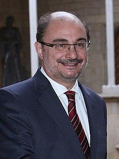 Javier Lambán Spanish politician