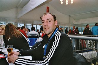 Frank Luck - Luck in Ruhpolding in 2005.