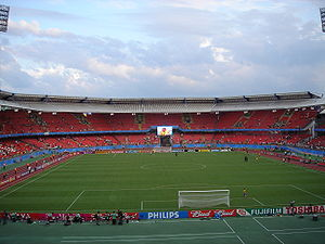 Football at the 1972 Summer Olympics - Image: Frankenstadion 4