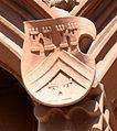 Frankfurt Haus zum Römer Balkon Wappen oben 03 Glauburg.jpg
