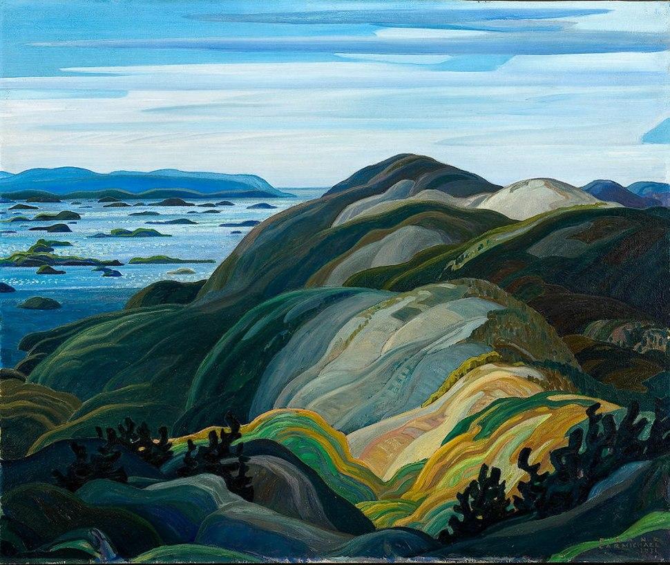 Franklin Carmichael - Bay of Islands from Mt. Burke