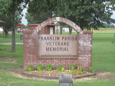 Franklin Parish Veterans Memorial, Winnsboro, LA IMG 0324