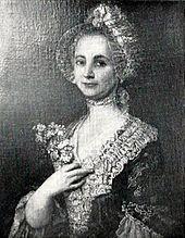 F. L. Eleonore Benda (1718–1758), erste Ehefrau Bendas (Quelle: Wikimedia)