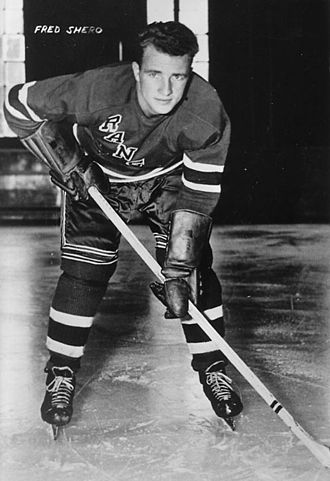 Fred Shero - Shero during his playing days with the New York Rangers